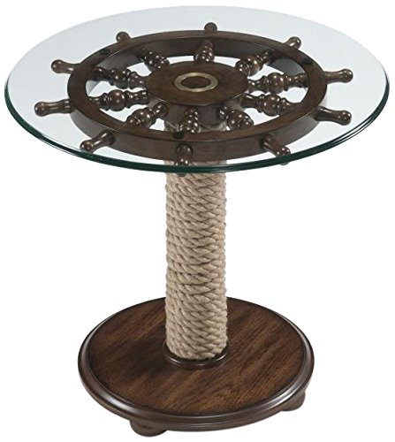 Magnussen T2214 Beaufort Wood Round Accent Table ()