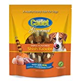 Cadet Triple Flavored Dog Treat Shish Kabobs, 12 Oz For Sale