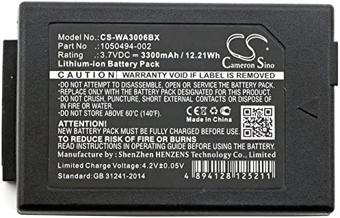 WorkAbout Pro G1 3300mAh Battery for Psion 1050494,7525 WA3006 7525C,7527 G2 WorkAbout Pro C WA3010 G1 WorkAbout Pro G2
