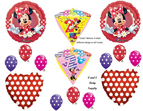 sECON (Red Minnie Party Supplies)