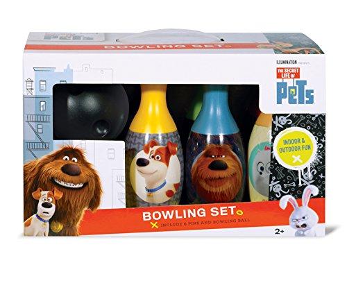- What Kids Want Secret Life Of Pets Bowling Set Toy
