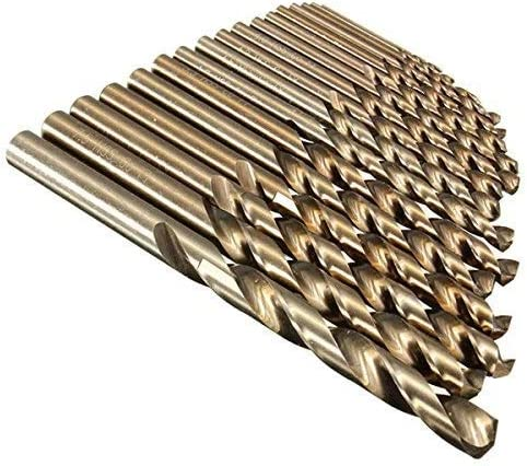 1.0Mm To 8.0Mm Professional Drill Bits Hss-Co Cobalt Various Sizes Metal Plastic Wood Color : 7.5mm