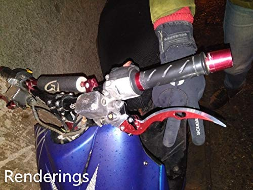FXCNC Racing CNC Blade Front Disc and Rear Drum frein leviers fit for Gilera Runner 125 FX 2T,Piaggio NRG MC2 MC3,Gilera Runner 200 VXR 4T,Vespa Granturismo 200 L