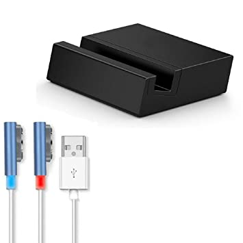 Sony Xperia Z3/Z3 Compact USB LED Cable + Cargador Dock - TOOGOO(R) Magnetico USB LED Cable + Cargador Dock para Sony Xperia Z3/Z3 Compact Azul