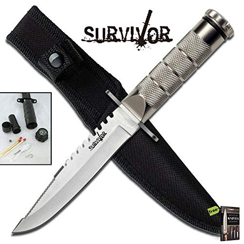 FIXED-BLADE SURVIVAL HUNTING Tactical Sharp Blade Military Knife | Survivor 8.5