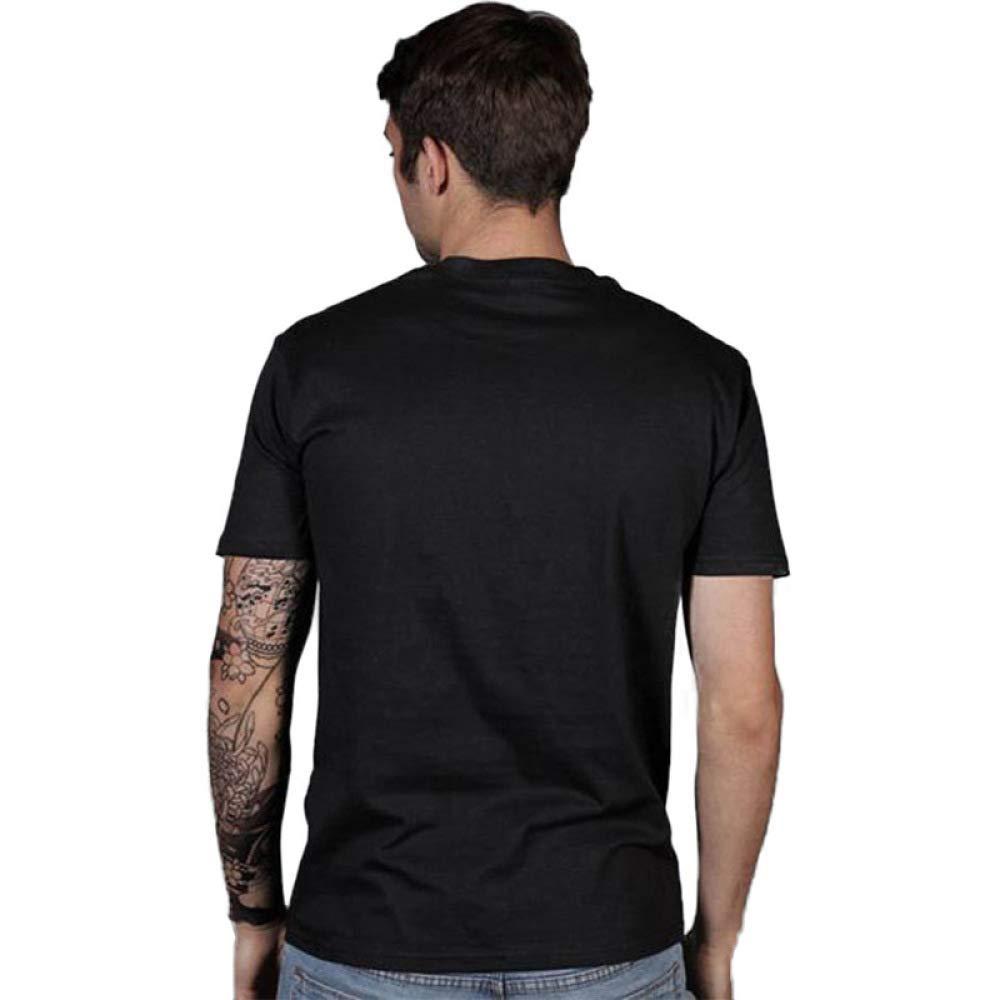 DXY Kreatives Europäisches Europäisches Europäisches und Amerikanisches Persönlichkeitstrend T-Shirt Herren Schwarzes T-Shirt Druck Herren T-Shirt B07MYJGKYX T-Shirts Leidenschaftliches Leben 7e9db9