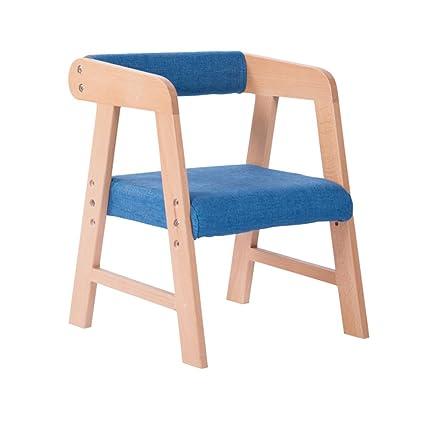 GXJ-stool Silla de Comedor para niños, tapicería Asiento de ...