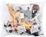 Darice Large 6' Plastic Jungle Animals 1029-18 - Set of 12