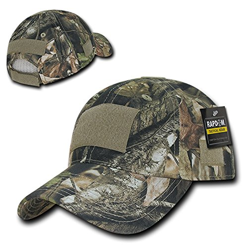 Soft Crown Tactical Operator Cotton Cap with Loop Patch - Hybricam (Camouflage Crown Cap)