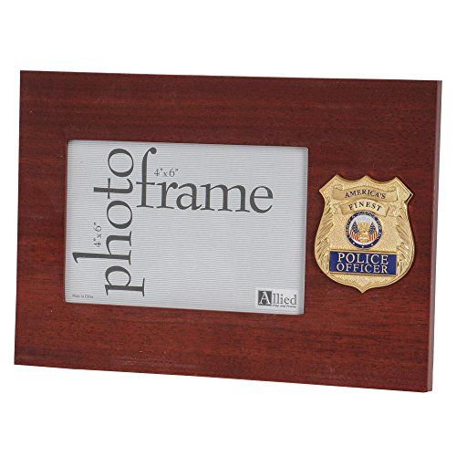 (Allied Products Police Department Medallion 4-Inch by 6-Inch Desktop Picture)