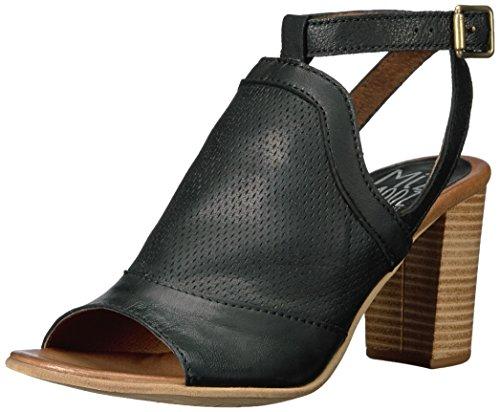 Miz Mooz Women's Shiloh Sandal, Black, Medium Black