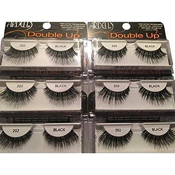 d69e58b43fb Ardell Glamour 202 Double Up Eye Lashes, Black: Amazon.co.uk: Beauty