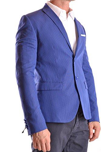 Daniele Alessandrini Homme MCBI086199O Bleu Coton Blazer