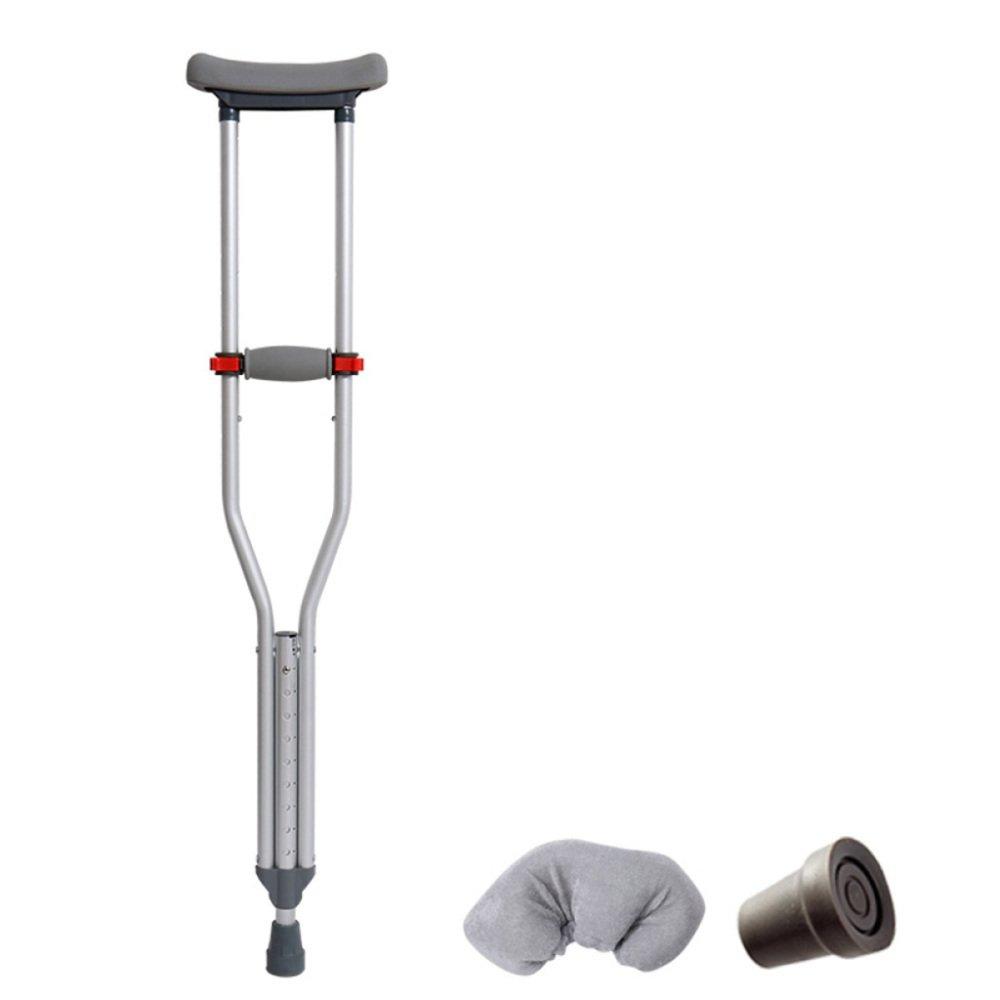 XINFUKL Krücken Unter Anti-Rutsch-Gehhilfe Der Aluminiumlegierung Anti-Rutsch-Gehhilfe Unter 168c8f