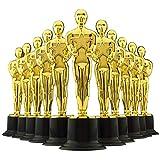 """6"""" Gold Award Trophies - Pack of 12 Bulk Golden"""