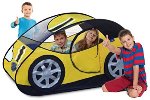 Gigatent TURBO TX POP UP CAR Childrens Fun Playhouse Sports Car Tent: Amazon.com: Books