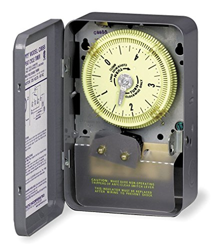 Intermatic C8855 SPDT Repeat Cycle Timer Switch 5 Minute Cycle W/ 2-1/2 Seconds Tripper Actuating Time
