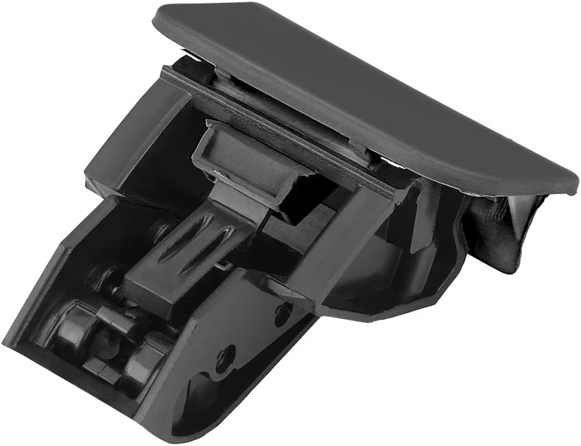 Glove Box Lock Latch Car Glove Box Lock Latch Lid Handle No Hole Glove Box Lock Latch Compartment Handle Black