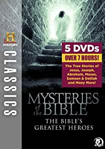 History Classics: Mysteries of the Bible - The Bible's Greatest Heroes [DVD]