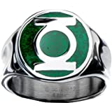 DC comics the bague logo green lantern