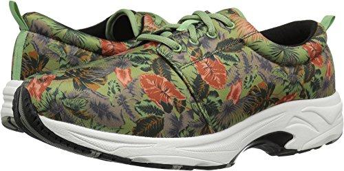 Drew Shoe Women's Excel Fashion Sneakers, Green, Mesh, Rubber, 6 XW by Drew Shoe