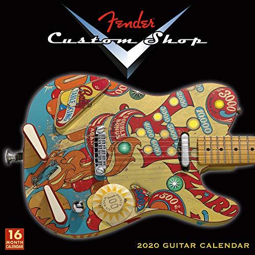 Fender Custom Shop Guitar 2020 Wall Calendar: by Sellers - Wall Custom Calendar