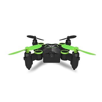 NJYT Mini Drone con Estuche Transporte, Plegable Bolsillo RC ...