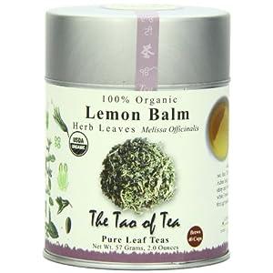 The Tao of Tea, Lemon Balm Herbal Tea, Loose Leaf, 2.0 Ounce Tin