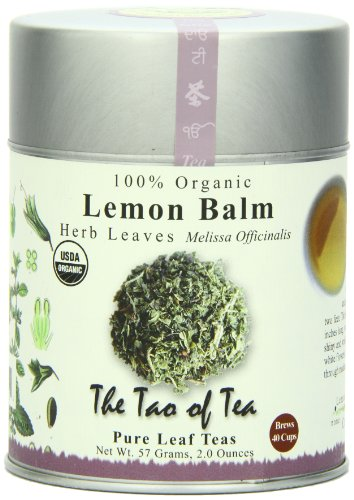 The Tao of Tea, Lemon Balm Herbal Tea, Loose Leaf, 2.0 Ounce Tin (Lemon Loose Leaf Tea)