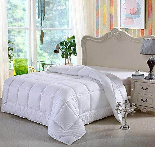 "picture of Swiss Comforts, Soft White Goose Down Alternative Duvet, King Size 102""x 88"""