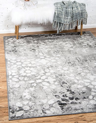 Unique Loom Sofia Collection Traditional Vintage Dark Gray Area Rug (2' x (Accents Collection Vintage Rug)