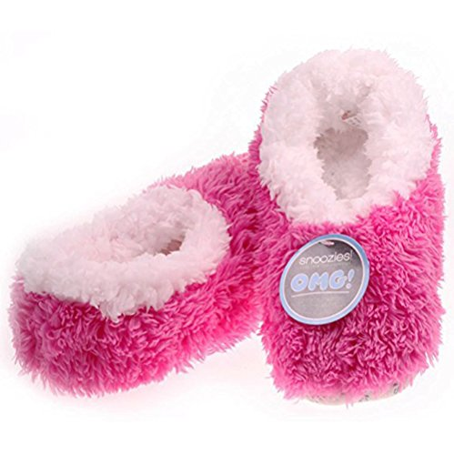 Pour 36 Chaussons 35 Rose Violet Rose Violet Femme Snoozies pwHfqy577