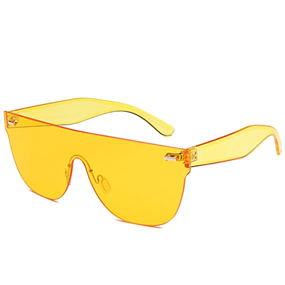 GSHGA MAIDIS Lentilles de lunettes de soleil intégrées Lunettes de soleil Ocean Lunettes de soleil de mode Lunettes de soleil Couples 7kmyUB1