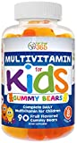 Complete Daily Gummy Multivitamin for Kids by Feel Great 365 (45 Servings) | Children Multivitamins to Support The Immune System, Fuel Growth & Overall Health ● Kids Supplement ● Gluten Free, Non-GMO