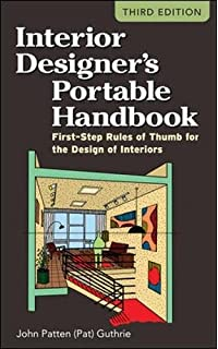 Interior Designers Portable Handbook First Step Rules Of Thumb For The Design Interiors