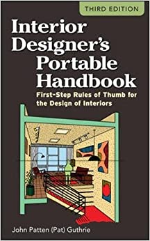 Interior Designers Portable Handbook First Step Rules Of Thumb For The Design Interiors McGraw Hill