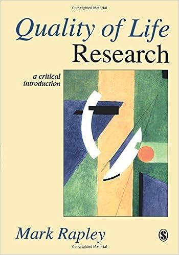 Descargar Libros Ingles Quality Of Life Research: A Critical Introduction PDF Mega