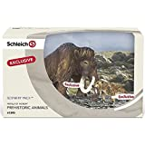 Schleich Smilodon and Mammoth Scenery Pack Toy by Schleich