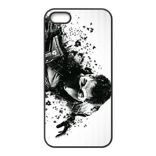 Syndicate 2 coque iPhone 5 5s cellulaire cas coque de téléphone cas téléphone cellulaire noir couvercle EEECBCAAN08784
