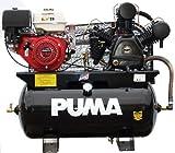 Puma Air Compressors TUK-13030HGE Honda GX390 Recoil/Electric Start Engine, 13 hp, 30 gal