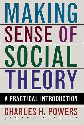 Book Making Sense of Social Theory by Charles H. Powers (2010-01-16)