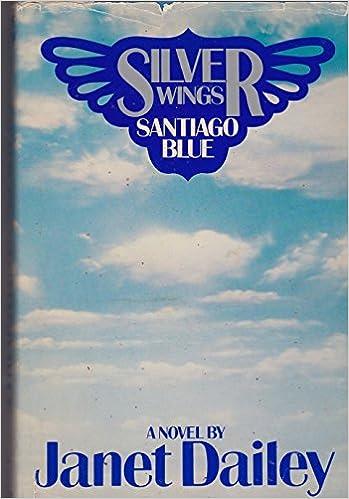 Book Silver Wings, Santiago Blue