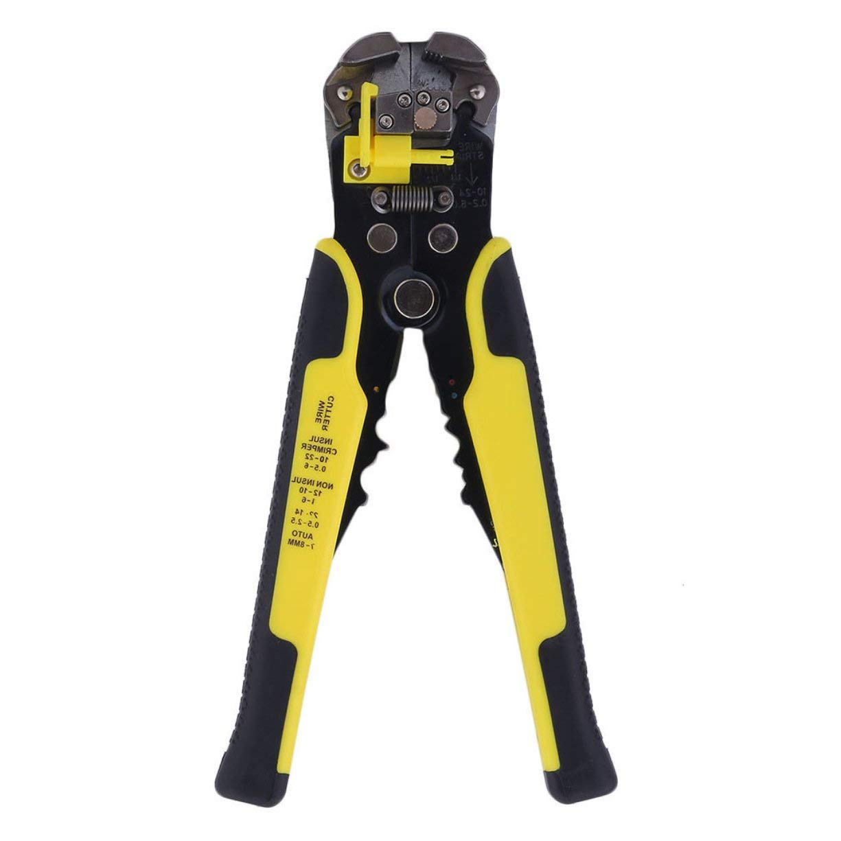 Multifunctional Practical Automatic Wire Striper Cutter Stripper Crimper Pliers Terminal Tool with Cushion Handle Grip