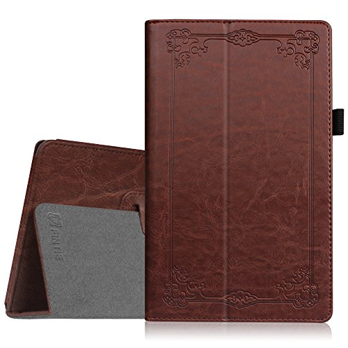 Fintie Folio Case for Amazon Fire HD 8, Vintage Antique Bronze