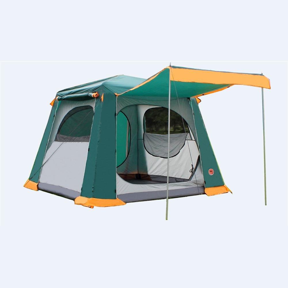 Miao Outdoor Camping Double Layer 6–8 Personen Wasserdicht Automatische Zelt