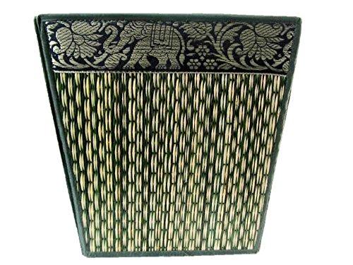 Small Decorative Wicker Elephant Paper Waste Basket Bin For Office Bedroom Bathroom Car 8