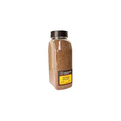 Woodland Scenics Brown Ballast (32 oz. Shaker): Toys & Games