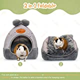 YUEPET Bunny Bed Warm Guinea Pig Cave Beds Cute