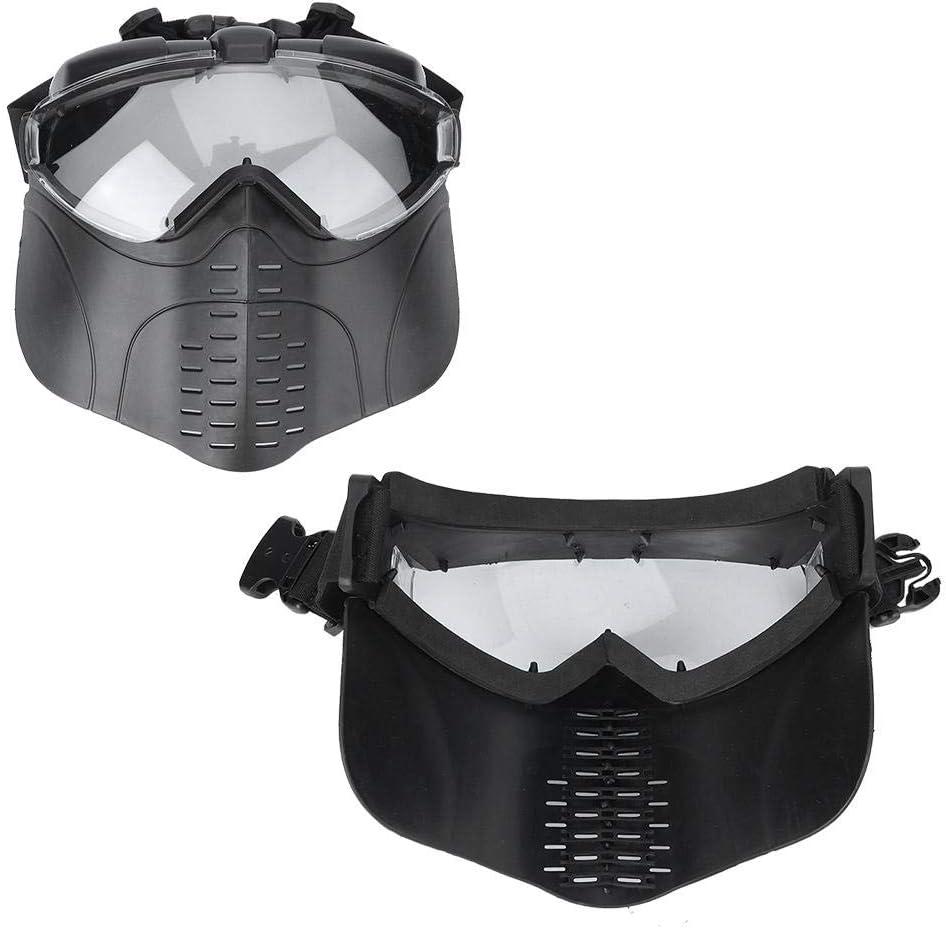 VGEBY CS Masque ext/érieur Respirant Confortable Tactique Airsoft CS Protection tir tir /à larc Masque CS Jeu de Guerre Masque de Protection Net