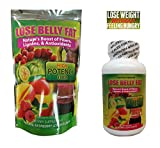 "ALL NEW - LOSE BELLY FAT FLUSH SHAKE POWDER - BELLY FAT FLUSH PLUS - FREE GIFT "" SUPER FAT BURNER 60 PILLS"" with Garcinia,raspberry Ketones, Green Tea,moringa - Belly Fat Blast - BELLY FAT FLUSH PLUS"